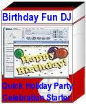BirthdayFunDJ7 PlugPlay Party Entertainment Software