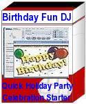 BirthdayFunDJ7 PlugPlay Party Entertainment Software