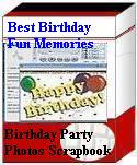Unique Digital Birthday Scrapbook Software