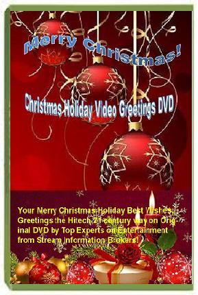 Best Christmas Holiday Greetings DVD Product