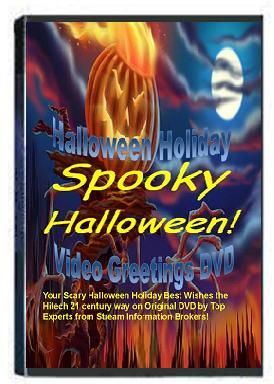 Best Halloween Holiday Greetings DVD Product