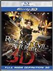 Movie DVD ResidentEvil Afterlife Bluray 3D