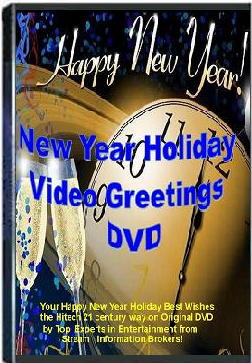 Best New Year Holiday Greetings DVD Product