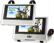 Polaroid Dual Screen Portable DVD Player