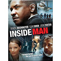Blockbuster Movie Inside Man DVD