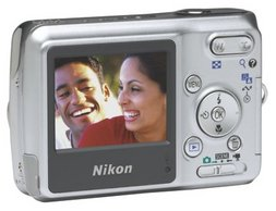 Nikon Point and Shoot digital camera