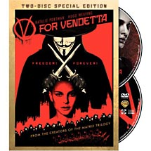Blockbuster Movie Vfor Vendetta DVD