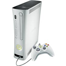 Microsoft Xbox360 Video Game System